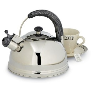 Creative Home Cobra 2.7-Quart Stainless Steel Tea Kettle [並行輸入品]