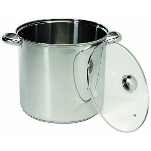 ExcelSteel 548 Stainless Steel Stockpot with Encapsulated Base, 8-Quart [並行輸入品]