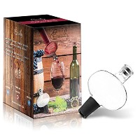 Wine Aerator - Deluxe Decanter Bottle Pourer Dispenser Spout Set - Excellent for Red or White Wine ...