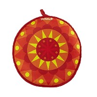 IMUSA USA MEXI-10007 Sunburst Cloth Tortilla Warmer, 12-Inch, Yellow/Red/Orange [並行輸入品]