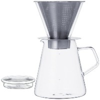 700 ml Carat Coffee Dripper and Pot with Lid by Kinto [並行輸入品]