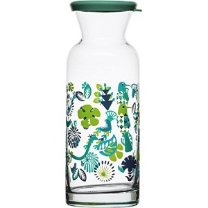 Sagaform 5016455 Fantasy Carafe with Lid, Blue/Green [並行輸入品]