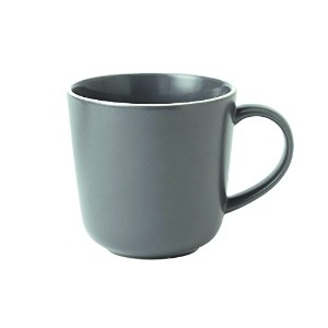 Royal Doulton Bread Street Mug, 13.8 oz, Gray [並行輸入品]