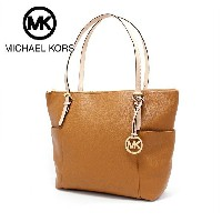 マイケルコース トートバッグ レディース MICHAEL KORS BAG JET SET EAST WEST TOP ZIP TOTE ACORN 35T2GTTT8L ACORN ...