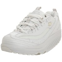 Skechers Shape Ups Metabolize Womens, White/Silver, 38 EUR