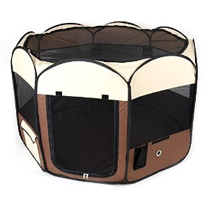 Ware Manufacturing Deluxe Pop Up Dog Playpen, Medium by Ware Manufacturing