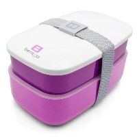 Bentgo All-in-One Stackable Lunch/Bento Box, Purple by Bentgo