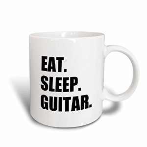 3dローズInspirationzStore Eat Sleepシリーズ – Eat Sleep guitar. FunテキストGifts for Guitarist musicians...