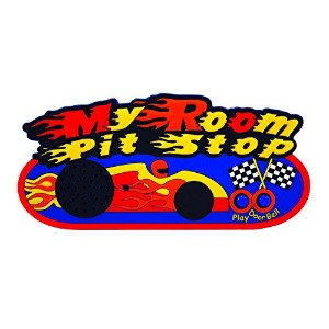 John Hinde Recordable Door Plaques - Race Car, One Size [並行輸入品]