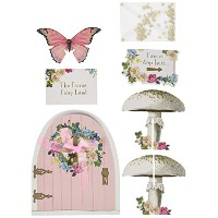 Talking Tables TSFAIRY-DOORSET Truly Fairy Party Door Sign Set, Multicolor by Talking Tables