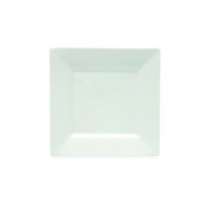 Maxwell and Williams Basics Square Dinner Plate, White [並行輸入品]