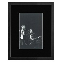 Simon & Garfunkel - In Central Park 1981 Framed Mini Poster - 33x28cm