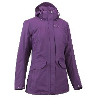 Quechua(ケシュア) ARPENAZ 500 JACKET WOMEN XS PURPLE 8283845-1710187【あす楽対応】