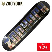 ZOO YORK ズーヨーク デッキ BLOCK BUSTER TAYLOR DECK 7.75 ZYD-285 スケートボード SKATEBOARD