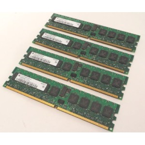 Infineon 2 GB ( 4 x 512 MB ) ddr2 SDRAM pc2 – 3200rメモリモジュールhys72t64001hr-5-a
