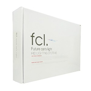 fcl 35W H4 Hi/Loリレーレス 6000K HIDコンバージョンキットFHID-355206S