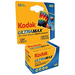 Kodak 603 4078 Ultramax 400 Color Negative Film (ISO 400) 35mm 36 Exposures Carded by Kodak