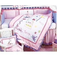 Kimberly Grant Wish Play Dance 4 Piece Crib Bedding Set by Kimberly Grant