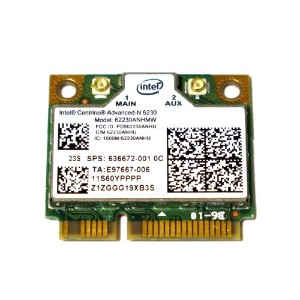 HP / IBM Lenovo純正 Intel Centrino Advanced-N 6230 62230ANHMW 636672-001 60YFFFF 802.11n WiFi...
