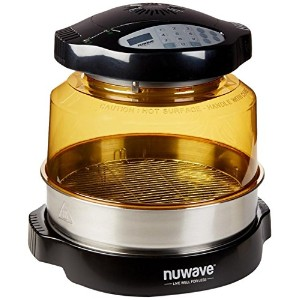 NuWave 20632 Pro Plus Oven with Stainless Steel Extender Ring, Black by NuWave