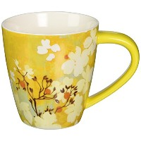 LANG 2121010 Saffron Butterfly Cafe Mug by Lang