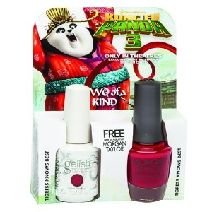 Harmony Gelish & Morgan Taylor - Two of a Kind - Tigress Knows Best - 0.5oz / 15ml Each