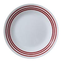 Corelle Livingware Ruby Red 6.75 Plate by CORELLE