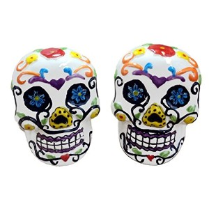 Day of the DeadスカルSalt and Pepper Shakers