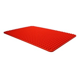 Dexas Elevated Silicone Cooking Mat, 16.25 by 11.5 inches by Dexas