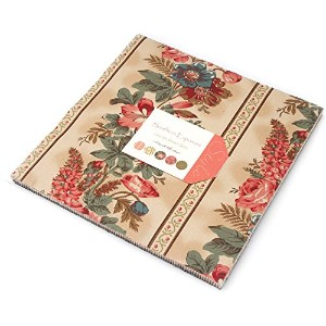 Southern Exposure Layer Cake, 42 - 10 Precut Fabric Quilt Squares By Laundry Basket Quilts by moda