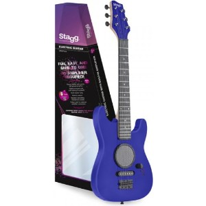 GAMP200-BL Junior Electric Guitar Pack キッズ エレキギターパック Stagg社 Blue【並行輸入】