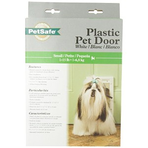 RADIO SYSTEMS HPA11-10966 Pet Door, Small, White by Radio Systems