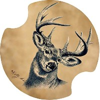 Thirstystone Deer Car Cup Holder Coaster, by Thirstystone