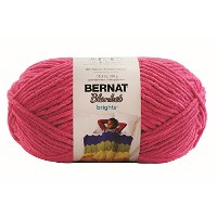 BERNAT Blanket Brights Big Ball Yarn 毛糸 超極太 ピンク系 300g 約201m