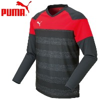 ○16FH PUMA(プーマ) TT Sprit II LS Training Tee AOP JP 654995-03 メンズ