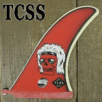 TCSS/The Critical Slide Society LIVE FAST FIN POPRED THOMAS BEXONモデル ロングボード用フィン ボックスフィン/センターフィン...
