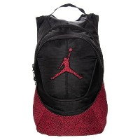 ジョーダンリュックサック Elephant Nike Air Jordan Jumpman Backpack - Red/Black Elephant Pattern [並行輸入品]