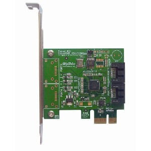 High Point SATA3.0 RAIDカード RocketRAID 620 PCI-e 2.0x1 SATA 6.0Gb/s SATA2ポートRAIDカード RR 620