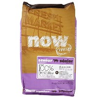 NOW! 152324 Fresh Grain Free Food for Senior Cats, 16-Pound Bag by NOW