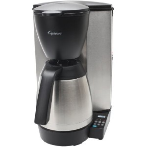 Capresso 485.05 MT600 Plus 10-Cup Programmable Coffee Maker with Thermal Carafe by Capresso