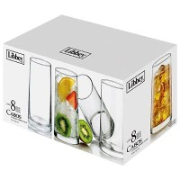 Libbey 8 Piece Cabos Cooler Set, Clear by Libbey