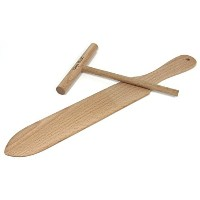 Crepe Spreader and Spatulaクレープメーカーキット。2 Piece Set Includes 1つ14で。ターナー、1つ5で。Batter Spreader ...