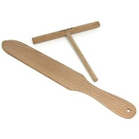 Crepe Spatula and Spreader。クレープメーカーセットIncludes 1つ7インチクレープBatter Spreader and One 14インチクレープまたはPancake...
