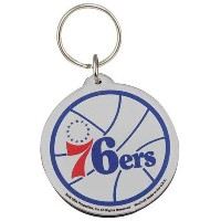 NBA チームロゴ アクリル キーチェーン セブンティシクサーズ Philadelphia 76ers High Definition Keychain