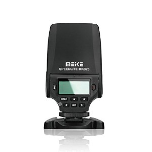 MEIKE MK-320S Speedlite Mini Manual Flash TTL For Sony Mirroless and DSLR Hot Shoe Camera A7 A7R...