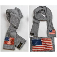 "TOY'S McCOYトイズマッコイ 【ご予約受付中】MILITARY THERMAL SCARF ""STARS & STRIPES"""
