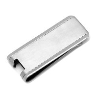 チタンBottle Opener Money Clip