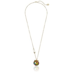 """Betsey Johnson """" Calypso Betsey """" Fruit and Faceted Stoneボールロングペンダントネックレス"""