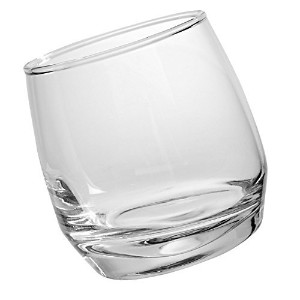 Sagaform Rocking Whiskey Glasses, 6 3/4-Ounces, Set of 6
