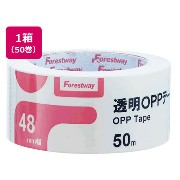 Forestway/透明OPPテープ 50巻/FRW638908